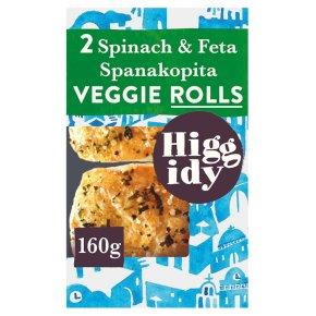 Higgidy Spinach & Feta Veggie Rolls