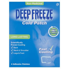 Deep Freeze Cold Patch