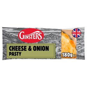 Ginsters Cheddar & Onion Pasty
