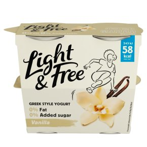 Danone Light & Free Vanilla