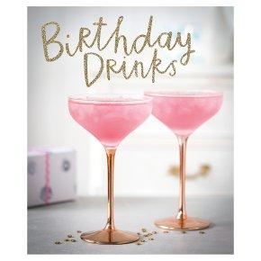 Birthday drinks happy birthday card waitrose birthday drinks happy birthday card m4hsunfo