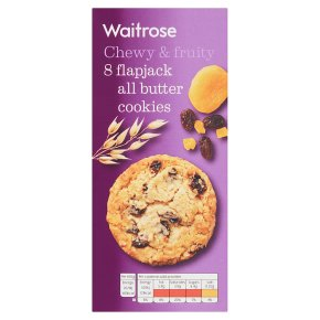 Waitrose 8 Flapjack All Butter Cookies