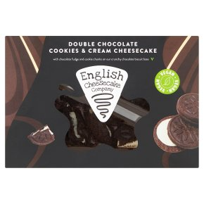 English Cheesecake Company Cookies & Cream Vegan Slices
