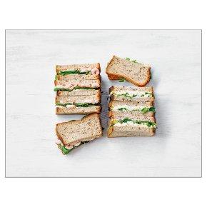Gluten Free Sandwich platter 8 halves