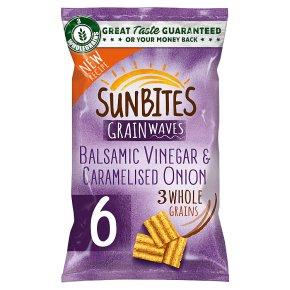 Sunbites Balsamic Vinegar & Caramelised Onion