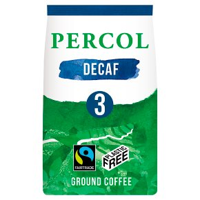 Percol Fairtrade Decaf Colombia Ground Coffee