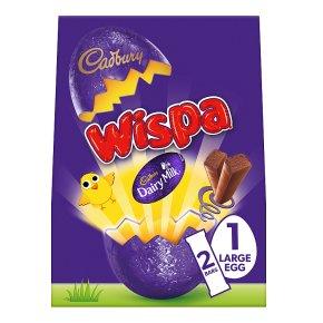 Cadbury Wispa Large Chocolate Easter Egg