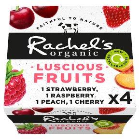 Rachel's luscious fruits cherry & strawberry