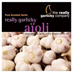 Really Garlicky aïoli