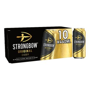 Strongbow Cider Cans