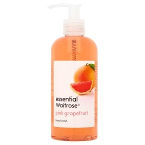 essential Waitrose Pink Grapefruit Wash