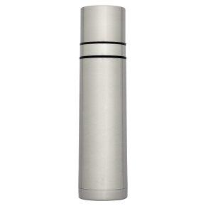 Waitrose 750ml silver vacuum flask