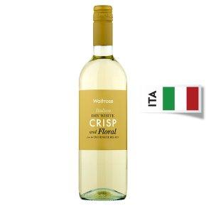 Waitrose Crisp and Floral, Chardonnay, Italian, White Wine