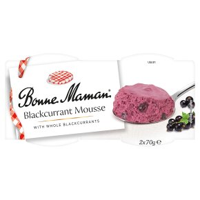 Bonne Maman Blackcurrant Mousse