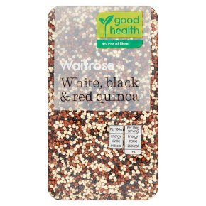 Waitrose LoveLife White, Black & Red Quinoa Seed Mix