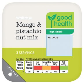 Waitrose Mango & Pistachio Nut Mix