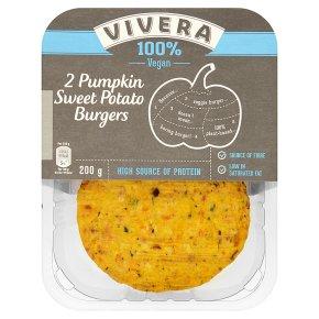Vivera 2 Pumpkin Sweet Potato Burgers
