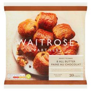 Waitrose Frozen 8 pains au chocolat