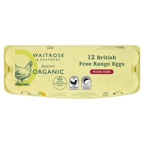 Waitrose Duchy Organic free range eggs