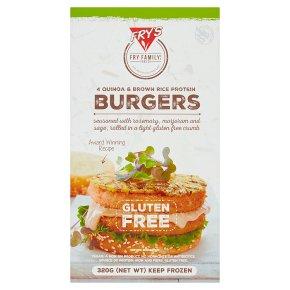 Fry's Meat Free 4 Quinoa & Rice Burgers