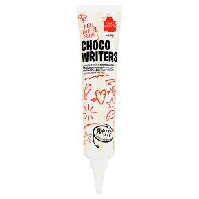 Cake Decor White Choco Writer