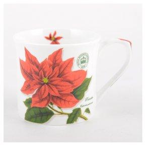 Kew poinsetta mug
