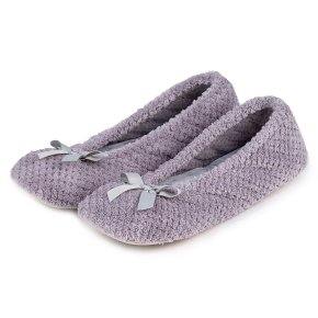 Ladies Popcorn Ballet in Grey Small