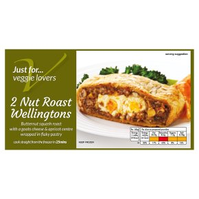 JFVL 2 nut roast Wellingtons