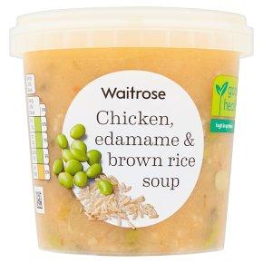 Waitrose Chicken, Edamame & Brown Rice Soup