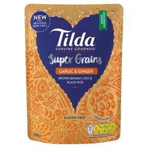 Tilda Super Grains Garlic & Ginger