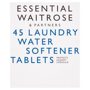 essential Waitrose Laundry Water Softener Tablets
