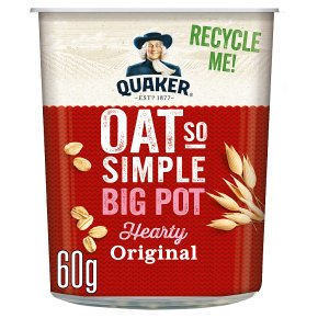Quaker Oats Oat So Simple Original Big Pot