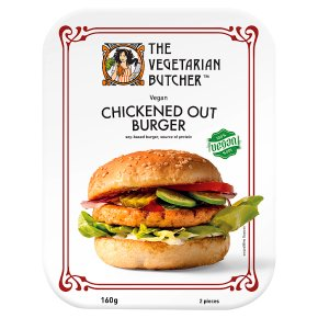 Vegetarian Butcher Chickened Out Burger