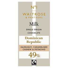 No.1 Milk Chocolate with Hazelnut, Cashew & Pistachio