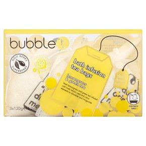 Bubble T Lemongrass Bath Tea Bags