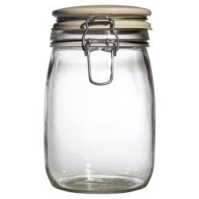 Waitrose Cooking Sealed Jar Ceramic Lid