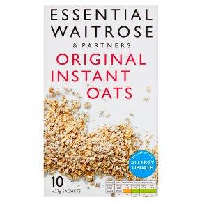 essential Waitrose original instant oats