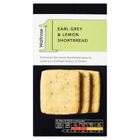 Waitrose 1 earl grey and lemon shortbread