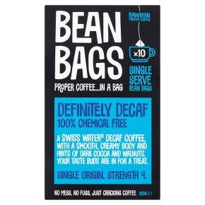 Bean Bags 10s Definitely Decaf