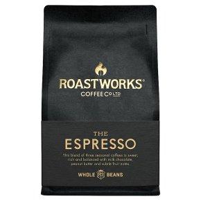 Roastworks The Espresso Whole Coffee Beans