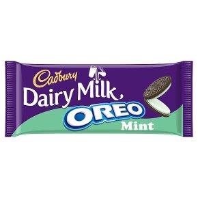 Cadbury Dairy Milk Oreo Mint Chocolate Bar