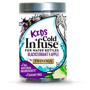Twinings Kids 12 Cold In'fuse Blackcurrant & Apple