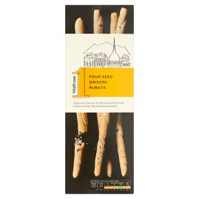 Waitrose 1 Four-Seed Grissini Rubata