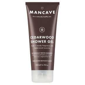 Man Cave Cedarwood Shower Gel