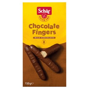 Schär Gluten Free Chocolate Fingers