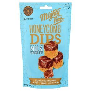 Mighty Fine Milk Chocolate Honeycomb Dips