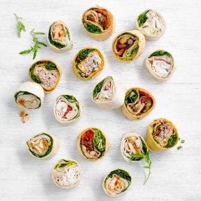 Mini Tortilla Wrap Platter - mixed