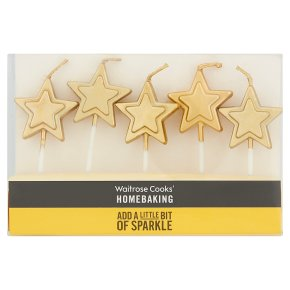 Waitrose Cooks' Homebaking flower candles