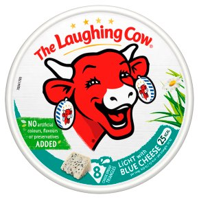 The Laughing Cow light with blue cheese, 8 triangles