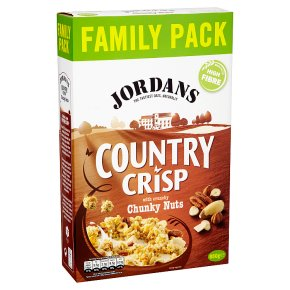 Jordans country crisp with chunky nuts